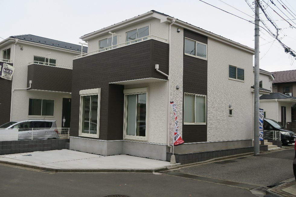 鷺沼小学校学区の新築戸建|JR幕張本郷駅まで徒歩15分