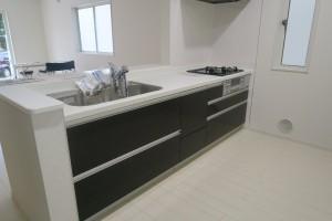 鷺沼小学校学区の新築戸建て|対面システムキッチン