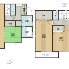 1号棟|習志野市香澄|新築2棟|カースペース2台