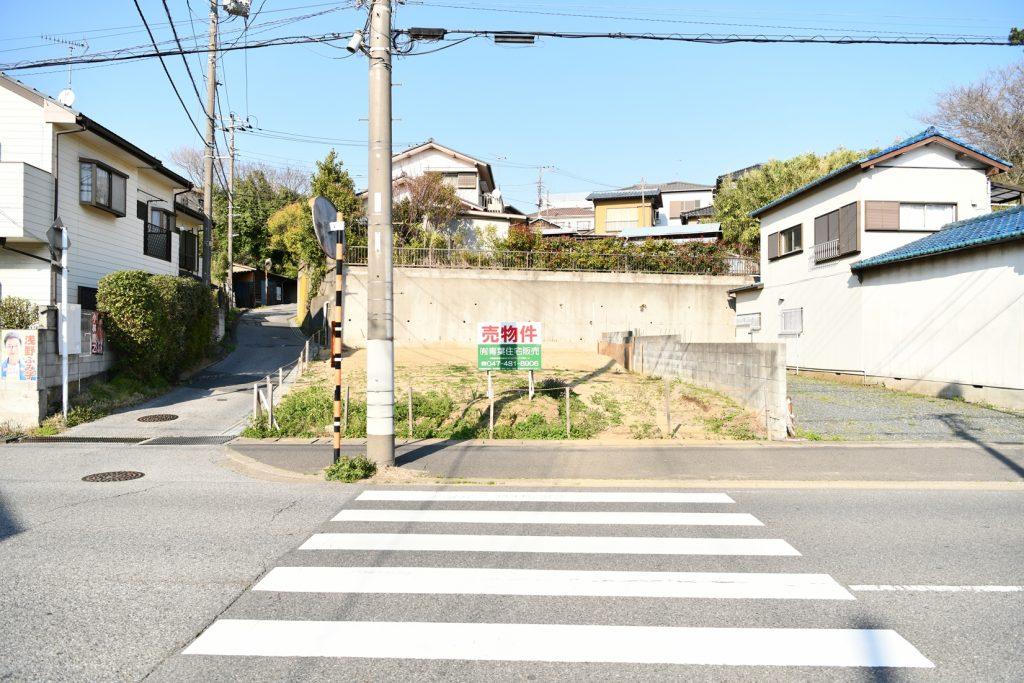 JR新検見川駅売地の写真